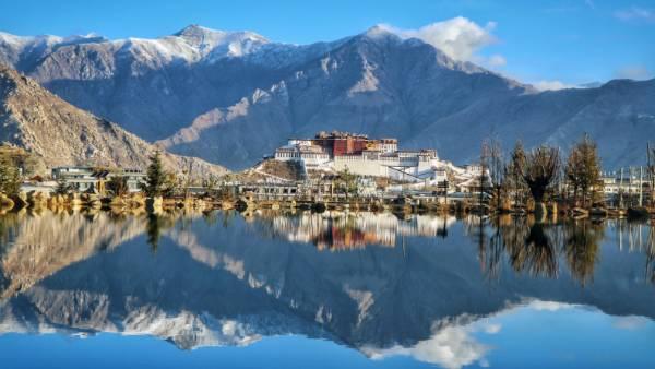 【冬游西藏-日光倾城】 珠峰保护区、扎什伦布寺、羊卓雍措、纳木错、卡若拉冰川7日落地自驾